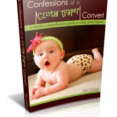 Confessions of a Cloth Diaper Convert {Ebook Giveaway}