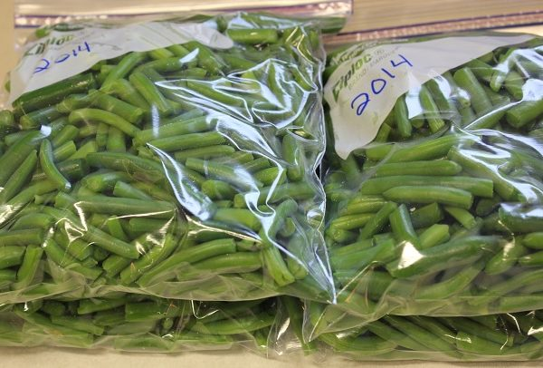 Freezing Fresh Green Beans
