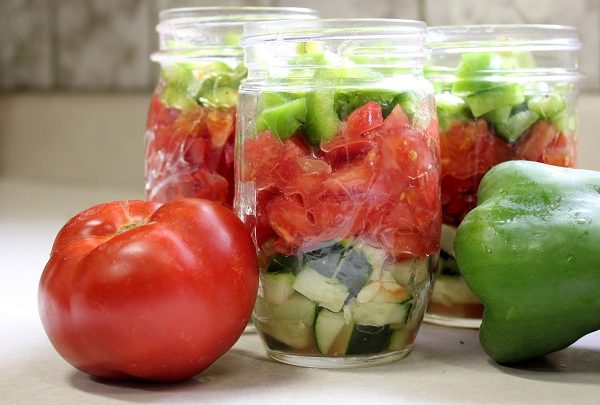 Summer Salad Jars