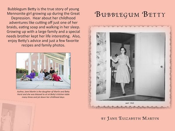 Bubblegum Betty Book Review and Giveaway
