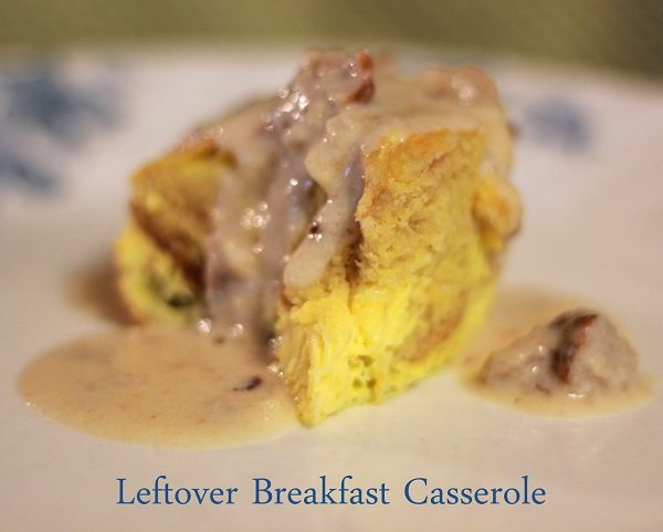 5-Minute Leftover Breakfast Casserole