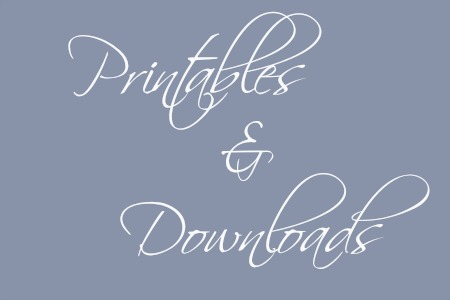 Printables & Downloads At The Shoe