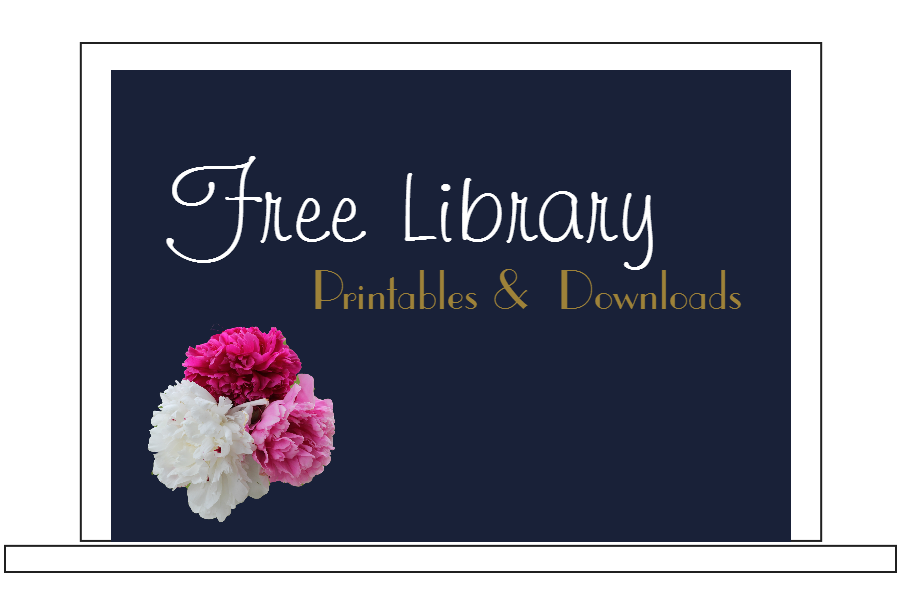 Printables & Downloads