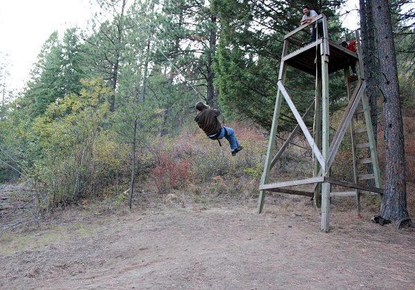 Idaho Wilderness Boys Camp Swing  {This Land of Ours}