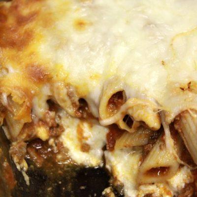 Lasagna/Pizza Dump Casserole