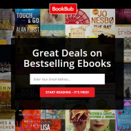 BookBub:  Kindle Deals
