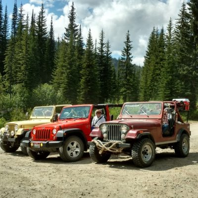 Jeeping In the Mountains  {This Land of Ours}