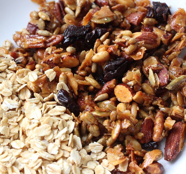 Toasted Oats and Snack Mix  {Real Food}