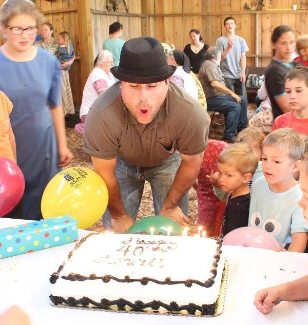 Lowell's 40th Birthday