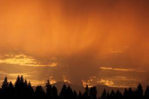 Summer Thunderstorm Sunset