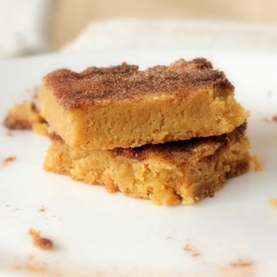 Lunchbox Snickerdoodle Bars